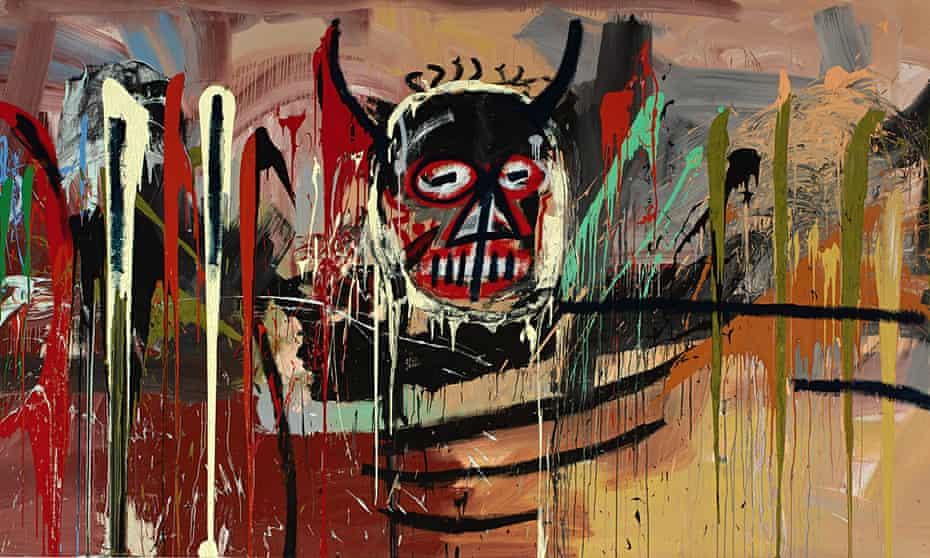 Untitled, by Jean-Michel Basquiat (detail)