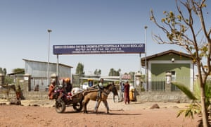 Tulu Bolo hospital, 60km south of Addis Ababa. The hospital has rolled out new treatment for patients with severe malaria.
