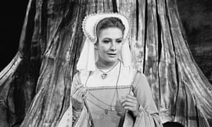 Vanessa Redgrave as Rosalind in 1961.