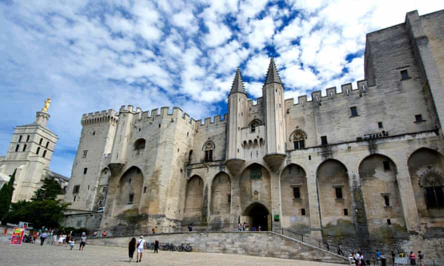 Palais des Papes or Palace of the Popes, Avignon