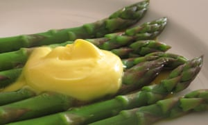 Asparagus and hollandaise sauce are a winning combination, helped by warm weather.