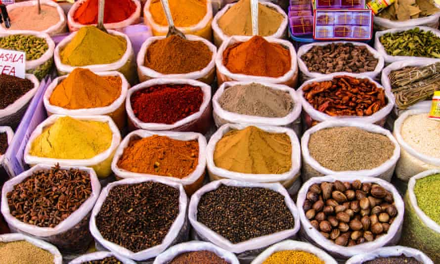 india spices in market