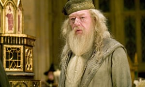 Michael Gambon as Professor Dumbledore in the film adaptation of Harry Potter and the Goblet of Fire