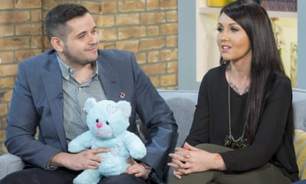 Courage: Jess Evans and Mike Houlston talk about their decision on ITV's This Morning programme.