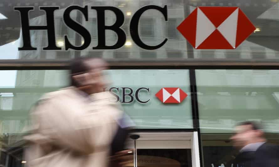 HSBC employs 166,000 worldwide.