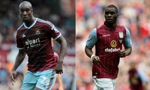 West Ham and Aston Villa