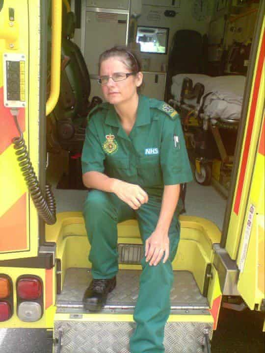 Paramedic Michelle Sanderson: 'You end up with nightmares.'