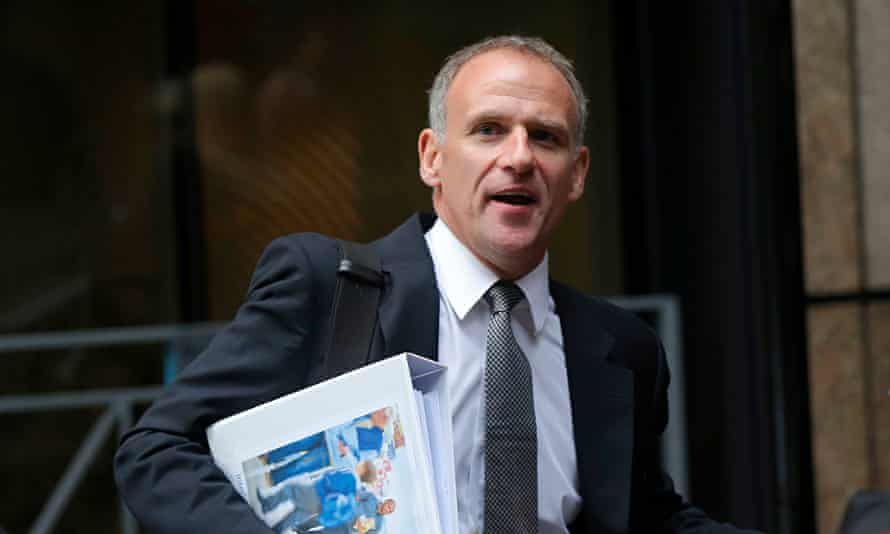 Tesco chief executive Dave Lewis l