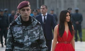 Kim Kardashian heads to lay flowers at the memorial to the victims of genocide in Yerevan, Armenia