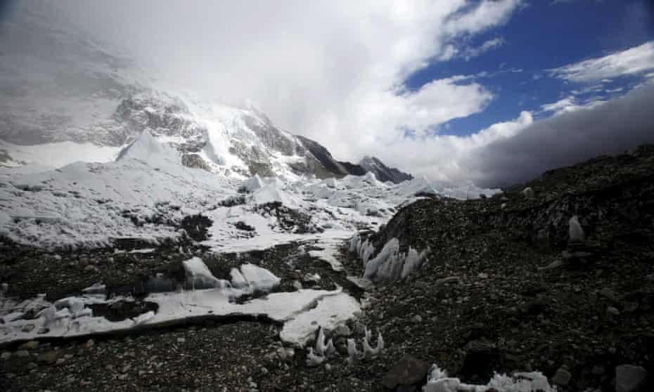Everest base camp.