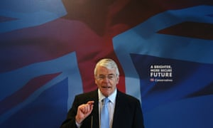 Former Prime Minister Sir John Major Joins The Election Campaign