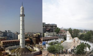 Dharahara tower in Kathmandu