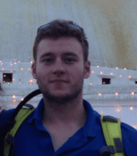 Sebastian Lovera, a British national listed on Google Person Finder as missing in Nepal.