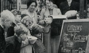 The first Ministry of Food communal feeding centre in South London