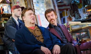 Left to right, Tom Sturridge, John Goodman and Damian Lewis star in American Buffalo by David Mamet and Wyndham's theatre.