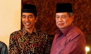 Susilo Bambang Yudhoyono Joko Widodo