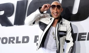 Furious competition ... Vin Diesel remains on top.