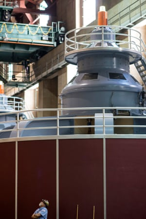 Hoover Dam generator