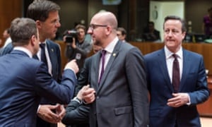 An EU summit in Brussels