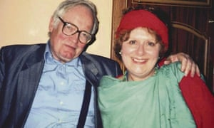 Richard West with his wife, Mary Kenny, the journalist and author, in 2000