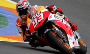 Marc Márquez became the youngest ever MotoGP world champion when he won the 2013 title aged just 20.
