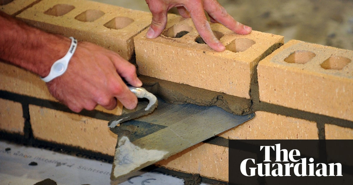 UK housebuilding plans fall down on lack of bricks and bricklayers ...
