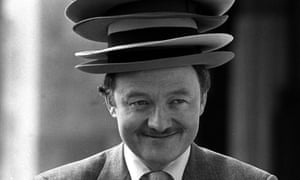 MP Ken Livingstone poses for a campaign intended to smarten the appearance of Britain's men in the news in 1988.