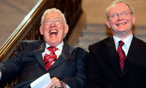 Ian Paisley (left) and Martin McGuinness in 2007.