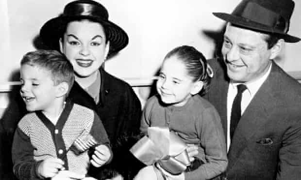Lorna Luft and family