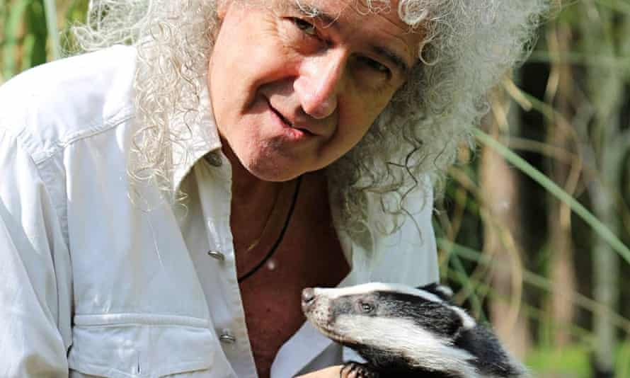 Queen guitarist Brian May, winner of campaigner of the year at the Observer Ethical Awards 2014.