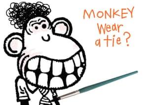 Angry monkey 8
