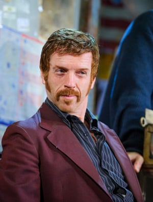 Damian Lewis in American Buffalo by David Mamet at Wyndham's theatre.