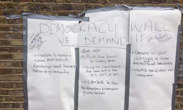 Brixton protest