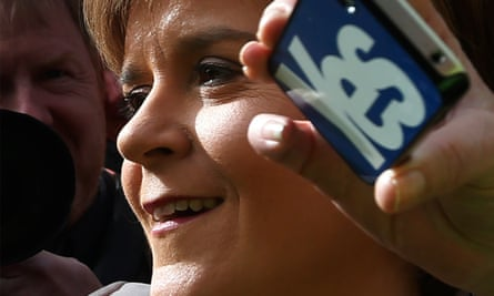 SNP leader Nicola Sturgeon is 'superb' in her use of Twitter, the social media platform's European chief has said