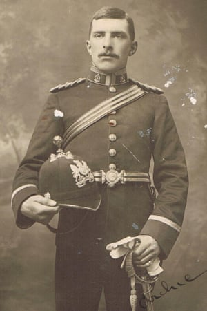 Camilla Palmer's great-grandfather, Captain Archibald Alfred Sutcliff of the Royal Army Medical Corps.