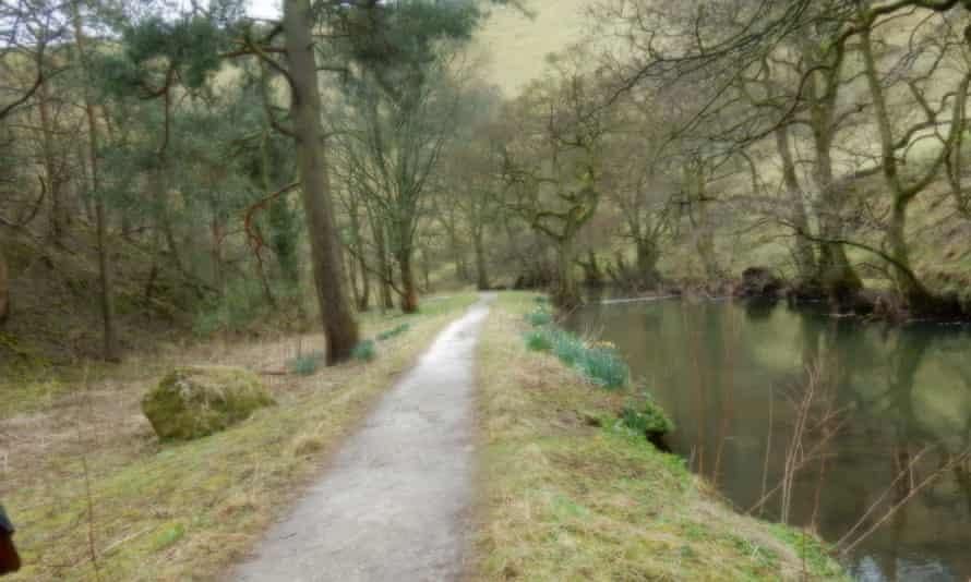 The River Dove at Wolfescote Dale.