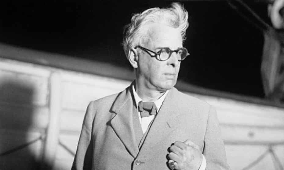 WB Yeats in New York in 1932.