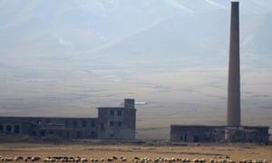 The site of China's first nuclear weapon research base in Haiyan county, Qinghai province.