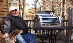 One man and his… GoSun Grill.