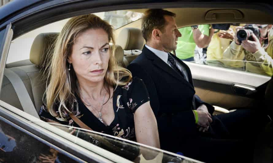 Kate and Gerry McCann in Lisbon last July after delivering statements in their case against Gonçalo Amaral.