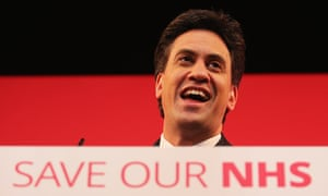 Ed Miliband Speaks At An NHS Rally