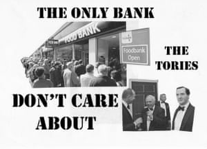The Only Bank the Tories Don't Care About. Patricia Ferguson, BA fine art Lincoln University