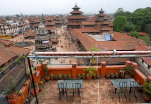 Patan Durbar Square, a world heritage site in the Lalitpur district of Nepal, photographed in 2010