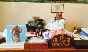 Dr Chraibi in his office