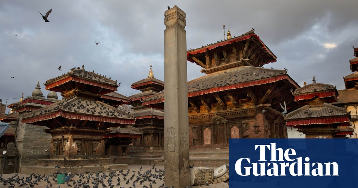 Kathmandu, Nepal, before and after the earthquake – in ...