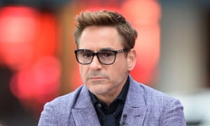 Hitting the promo trail: Robert Downey Jr on Good Morning America.