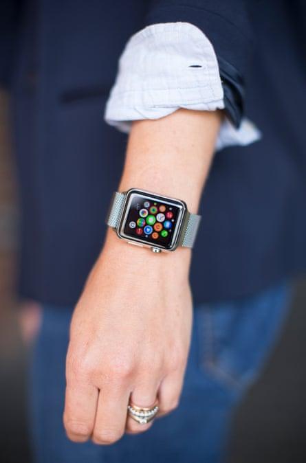 Jess Cartner-Morley's Apple Watch