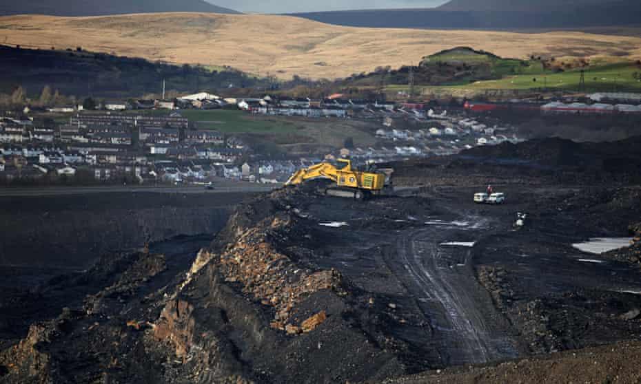 The Ffos-y-fran coalmine