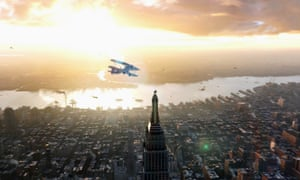 King Kong on the Empire State Building in Peter Jackson's film.