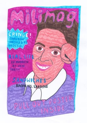 Milimag Maisie Robinson, BA (Hons) Graphic Design, Camberwell College of Arts (University of the Arts London) Inspired by the growing number of teenage Ed Miliband mega fans on twitter, The Milifandom.